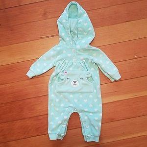 Carter's fleece onesie